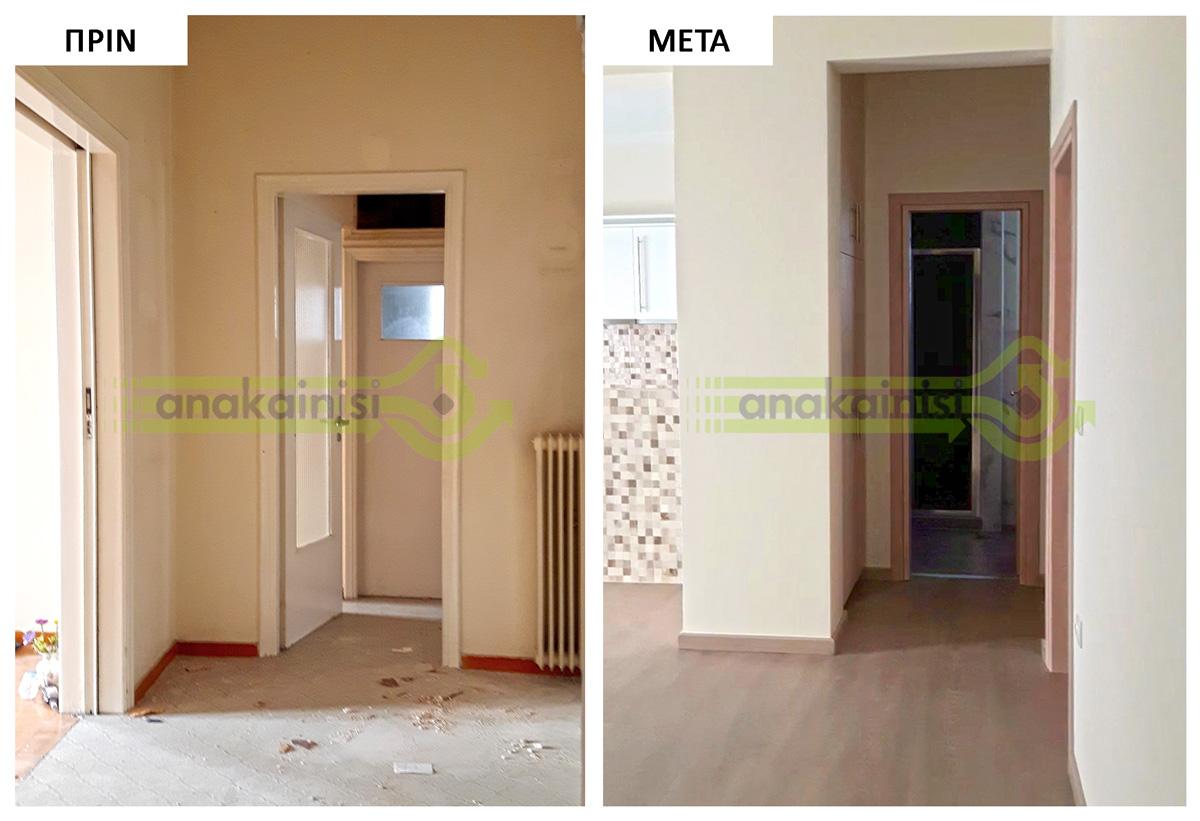 Ανακαίνιση σπιτιού στην Καισαριανή - Α 102